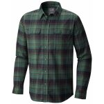Mountain Hardwear Men's Stretchstone Long-Sleeve Shirt – Green – Size XL