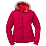 Outdoor Research Women's Breva Jacket – Red