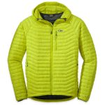 Outdoor Research Men's Verismo Hooded Down Jacket – Yellow