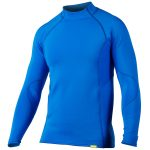 NRS Men's HydroSkin 0.5 Long-Sleeve Shirt – Blue – Size XL