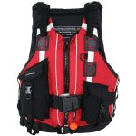 NRS Rapid Rescuer PFD Life Jacket – Red