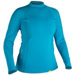 NRS Women's HydroSkin 0.5 Long-Sleeve Shirt – Blue – Size XL