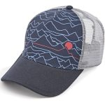 Ems Cartogram Trucker Hat – Blue