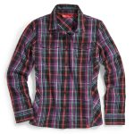 Ems Womens Timber Flannel Shirt – Black – Size M