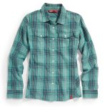 Ems Womens Timber Flannel Shirt – Blue – Size S