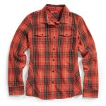 Ems Womens Timber Flannel Shirt – Red – Size XS
