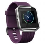 Fitbit Blaze Fitness Watch – Plum, Large – Purple
