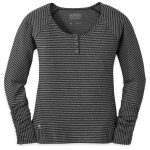 Outdoor Research Women's Mikala Henley – Black – Size XS