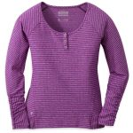 Outdoor Research Women's Mikala Henley – Purple – Size XS