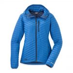 Outdoor Research Women's Verismo Hooded Down Jacket – Blue