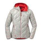 Outdoor Research Women's Filament Hooded Down Jacket – White