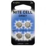 Dorcy Nite Ize Lithium Replacement Batteries, 4 Pack