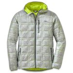 Outdoor Research Men's Filament Hooded Down Jacket – White