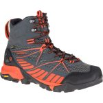 Merrell Men's Capra Venture Mid Gore-Tex Surround Hiking Boots, Granite – Black