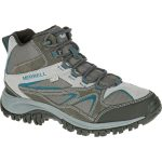 Merrell Men's Phoenix Bluff Mid Waterproof Hiking Boot, Grey – Black