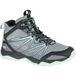 Merrell Women's Capra Rise Waterproof Mid, Monument – Black