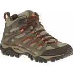 Merrell Women's Moab Waterproof Mid, Bungee Cord, Wide – Brown