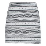 Icebreaker Women's Vertex Skirt, Icon Fairisle – White