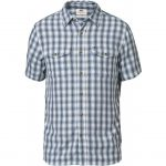 Fjallraven Men's Abisko Cool Short-Sleeve Shirt – Blue