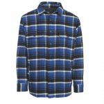 Woolrich Men's Oxbow Bend Lined Flannel Shirt Jac – Blue