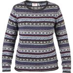 Fjallraven Women's ร–vik Folk Knit Sweater – Blue