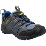 Keen Kids Oakridge Low Waterproof Shoes, Magnet/true Blue – Black