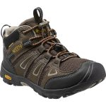 Keen Kids Oakridge Mid Waterproof Boots, Brown/brindle – Brown
