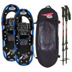 Redfeather Hike Series 8โ€ X 25โ€ Snowshoes Kit – Black