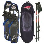 Redfeather Hike Series 9.5โ€ X 36โ€ Snowshoes Kit – Black