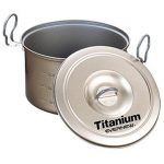 Evernew Titanium Non-Stick 2.6L Pot With Handle