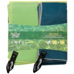 Packtowl Body Size Personal Towel, Set Of 2 Holiday Pack – Green