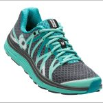 Pearl Izumi Women's Road N3 Running Shoe, Smoke Greay/aqua Mint – Black