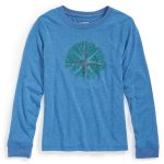 Ems Boys North Star Vital Graphic Tee – Blue – Size YOUTH S