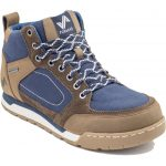 Forsake Mens Clyde Waterproof Boots, Brown/navy – Brown