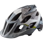 FOX RACING Flux Dresden Bike Helmet – Black