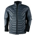 Obermeyer Mens Kinetic Down Hybrid Jacket – Black