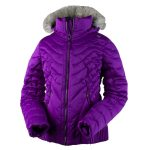 Obermeyer Girls Aisha Jacket – Purple