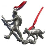 Creatively Yours Hiker With Dog Ornament