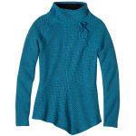 Prana Womens Mattea Sweater – Blue – Size M
