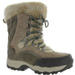 Hi-Tec Women's St Moritz 200 Wp Ii Boots, Olive/taupe/stone – Green
